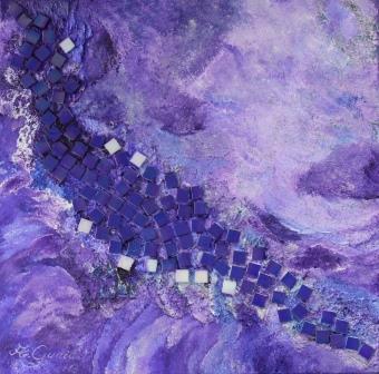 A003 Abstrakt violett web